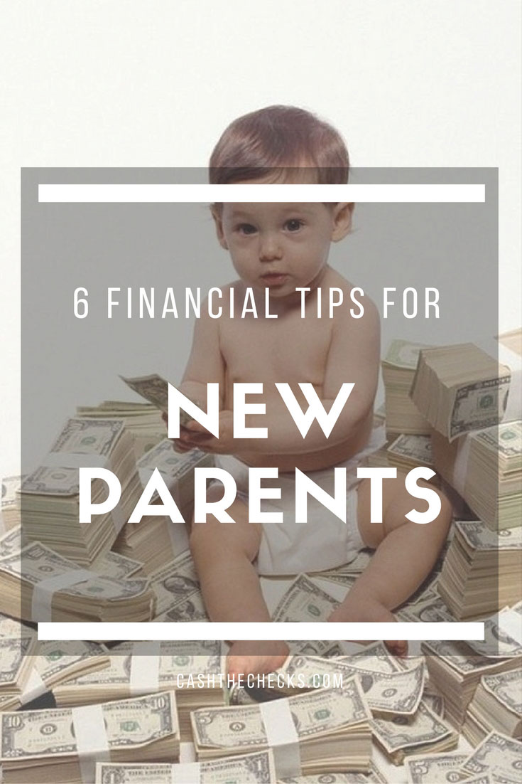 6 Financial Tips For New Parents