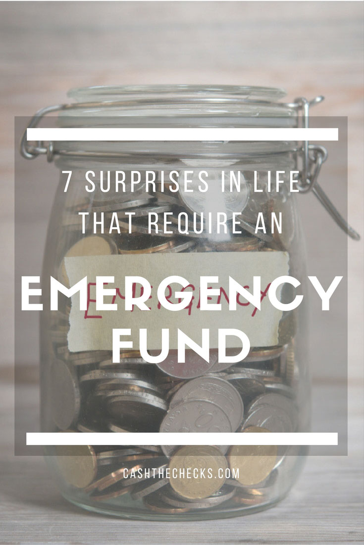 7 Surprises In Life That Require An Emergency Fund