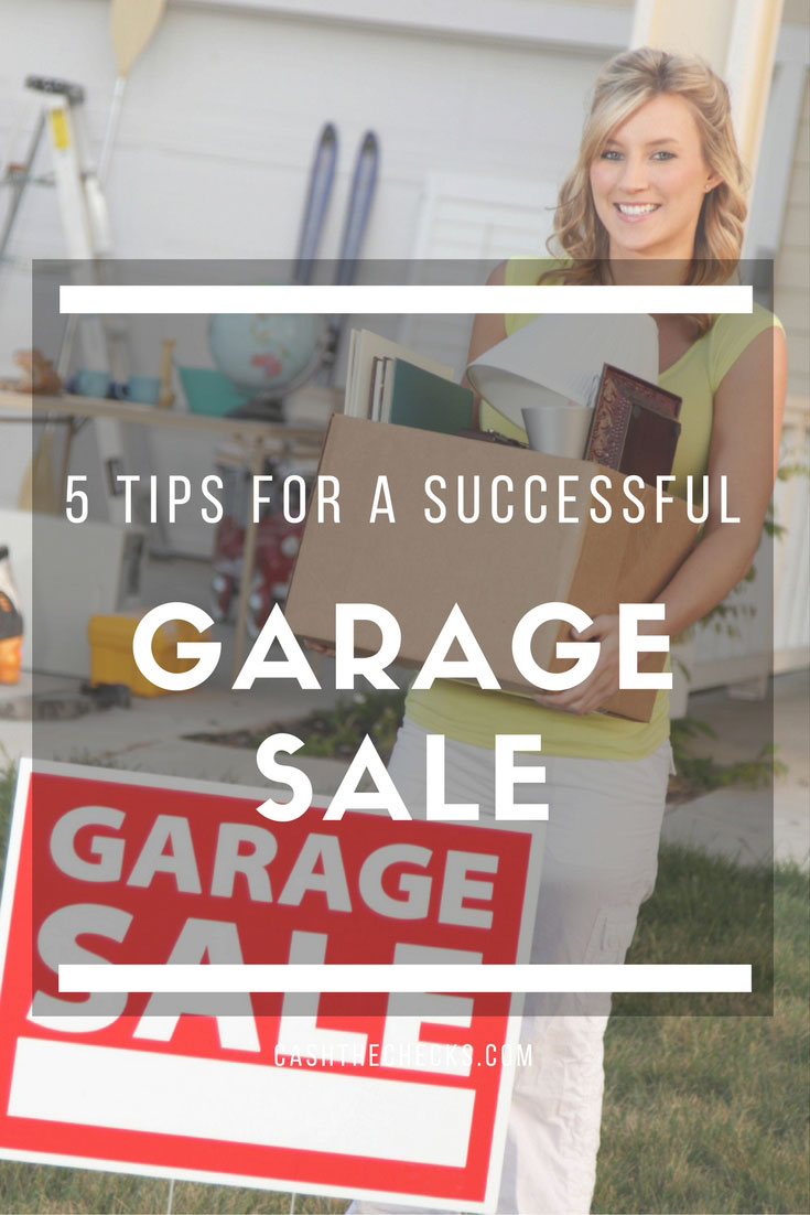 5 Tips For A Successful Garage Sale