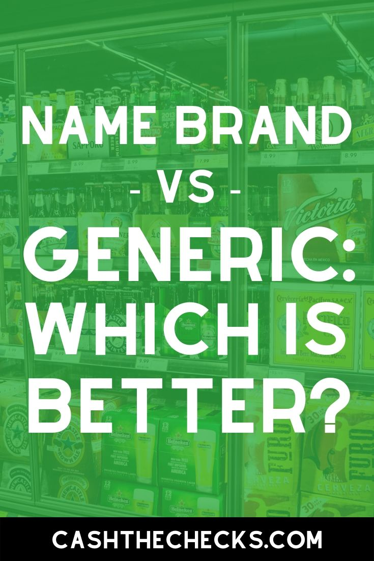 Name brand vs Generic, which is better? #shopping #groceries #personalfinance #cashthechecks