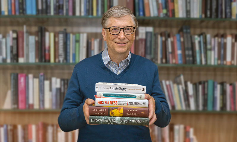 Bill Gates Reads Every Day