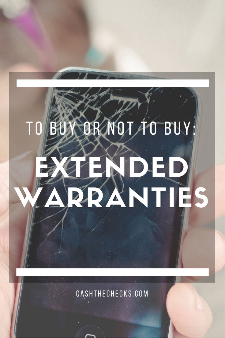 To Buy Or Not To Buy: An Extended Warranty