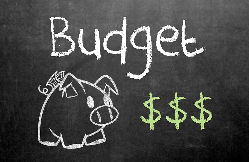 How to create a budget fast
