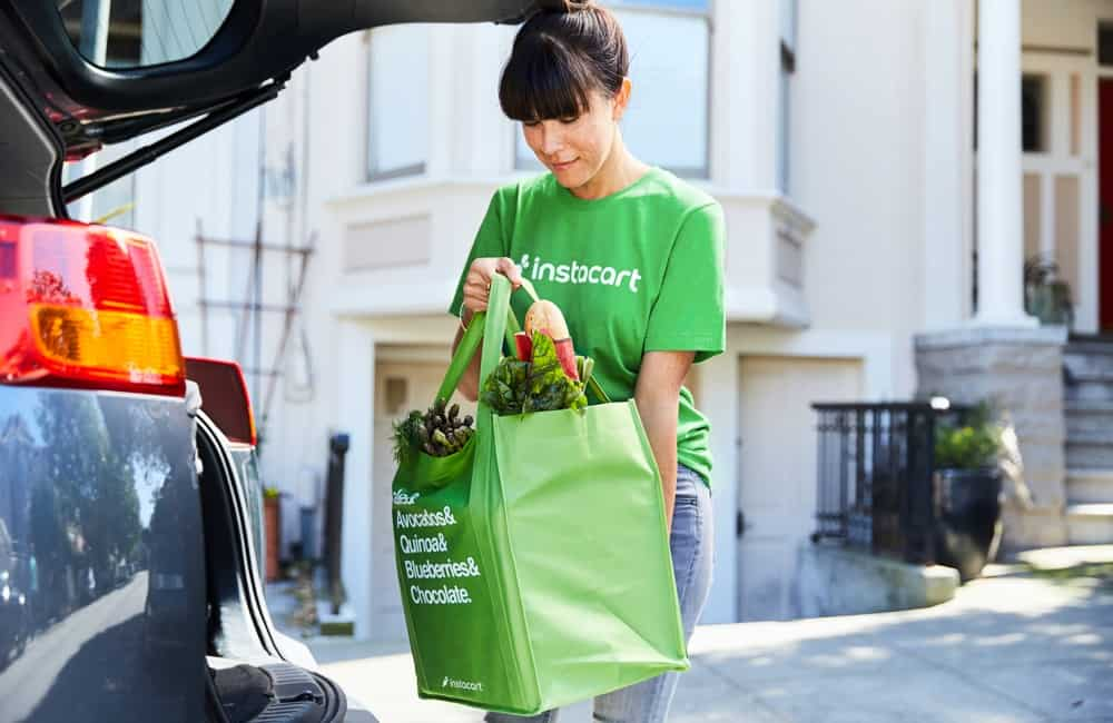 Make money delivering groceries