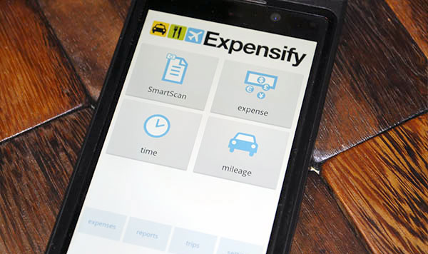 Expensify app for keeping tabs on your costs