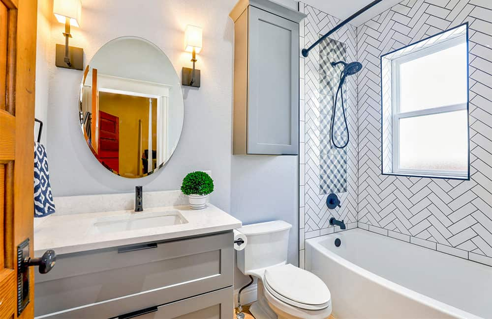 Fix up the bathroom to increase the value of your home
