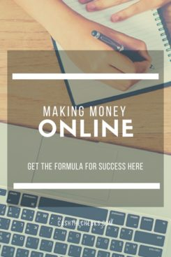 Making Money Online: The Formula For Success