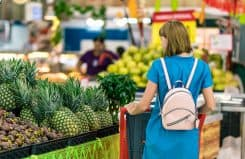 Grocery store food budget