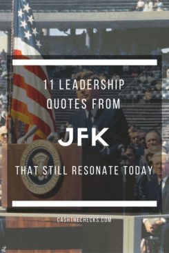 11 Leadership Quotes From JFK That Still Resonate Today