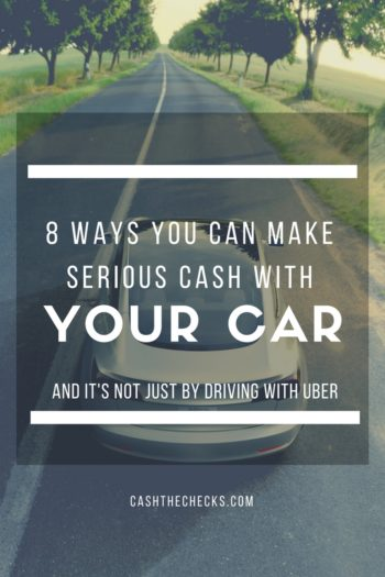 8 Ways Of Making Serious Cash With Your Car