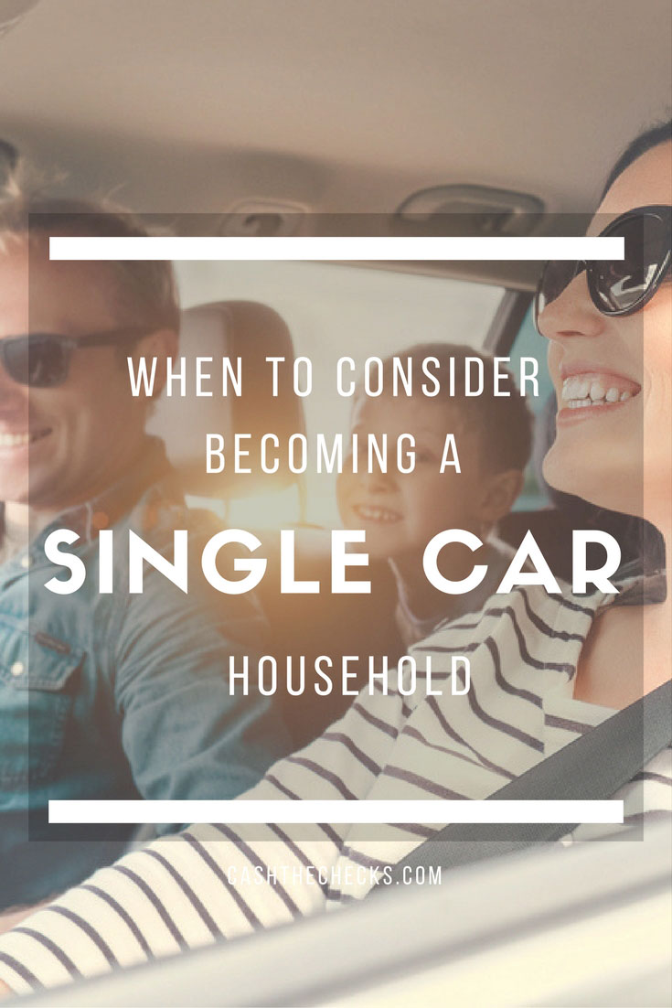 When To Consider Becoming A Single-Car Household